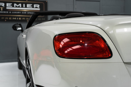 Bentley Continental GTC 4.0 V8. MULLINER DRIVING SPECIFICATION. GHOST WHITE PAINT. LOW MILEAGE. 13