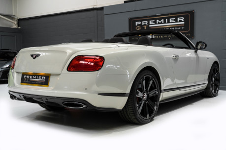 Bentley Continental GTC 4.0 V8. MULLINER DRIVING SPECIFICATION. GHOST WHITE PAINT. LOW MILEAGE. 9