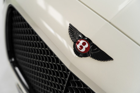 Bentley Continental GTC 4.0 V8. MULLINER DRIVING SPECIFICATION. GHOST WHITE PAINT. LOW MILEAGE. 25