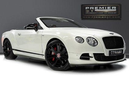 Bentley Continental GTC 4.0 V8. MULLINER DRIVING SPECIFICATION. GHOST WHITE PAINT. LOW MILEAGE.