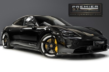 Porsche Taycan TURBO S 93KWH. HUGE SPECIFICATION. CARBON SPORT DESIGN PACK. PANO ROOF.