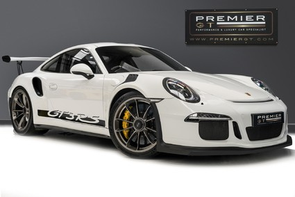 Porsche 911 GT3 RS PDK. CLUBSPORT PACK. PCCBS. LEATHER & CARBON INTERIOR. SPORTS CHRONO
