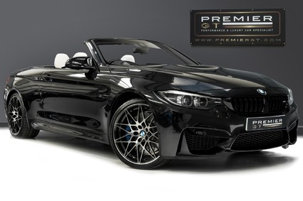 BMW M4 COMPETITION. 3.0 DCT. HUD. CONVERTIBLE COMFORT PACK. HARMON KARDON.