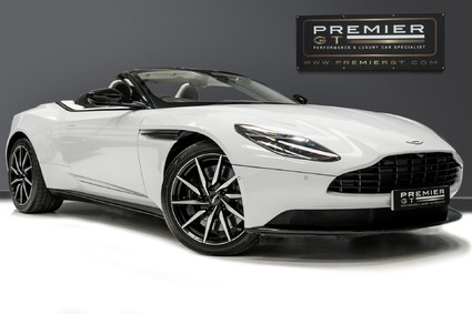 Aston Martin DB11 V8 VOLANTE. 1 OWNER FROM NEW. HEATED & COOLED FRONT SEATS. BLACK EXT PACK.