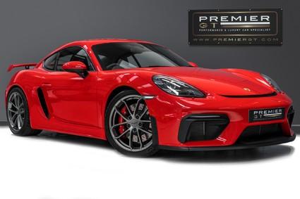 Porsche 718 Cayman GT4. GREAT SPEC. PDK. CARBON INTERIOR. SPORTS SEATS. CHRONO PACK. .