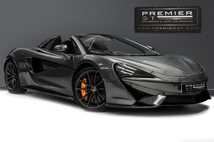 McLaren 570S SPIDER. V8 SSG. NOSE LIFT. SECURITY PACK. REAR CAMERA. FRONT END PPF.