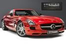 Mercedes-Benz SLS AMG. 6.2 V8. LEMANS RED. CARBON INTERIOR PACK. B & O BEOSOUND. 1 OWNER.