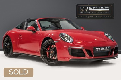 Porsche 911 TARGA 4 GTS 3.0 TWIN-TURBO PDK. NOW SOLD. CALL TODAY TO SELL YOUR PORSCHE.