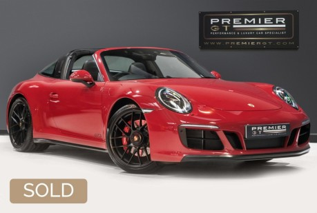 Porsche 911 TARGA 4 GTS 3.0 TWIN-TURBO PDK. NOW SOLD. CALL TODAY TO SELL YOUR PORSCHE. 1