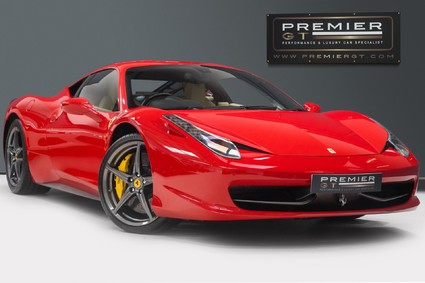 Ferrari 458 ITALIA DCT 4.5 COUPE. NOW SOLD, SIMILAR REQUIRED. PLEASE CALL 01903 254800