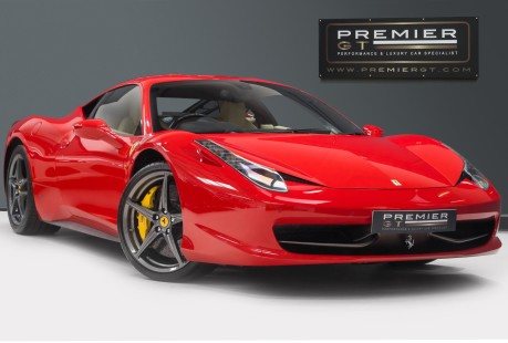 Ferrari 458 ITALIA DCT 4.5 COUPE. NOW SOLD, SIMILAR REQUIRED. PLEASE CALL 01903 254800 1