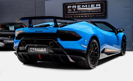 Lamborghini Huracan LP 640-4 PERFORMANTE 5.2 V10 SPYDER. SOLD. CALL US TO SELL YOUR LAMBORGHINI 6