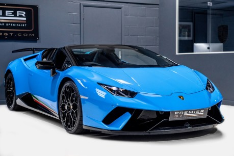 Lamborghini Huracan LP 640-4 PERFORMANTE 5.2 V10 SPYDER. SOLD. CALL US TO SELL YOUR LAMBORGHINI 9