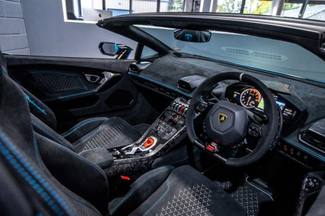 Lamborghini Huracan LP 640-4 PERFORMANTE 5.2 V10 SPYDER. SOLD. CALL US TO SELL YOUR LAMBORGHINI 35