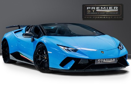 Lamborghini Huracan LP 640-4 PERFORMANTE 5.2 V10 SPYDER, HUGE SPEC, OVER £35K OF OPTIONS