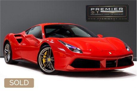 Ferrari 488 GTB 3.9 TWIN-TURBO V8. NOW SOLD. CALL US TODAY TO SELL YOUR FERRARI. 1