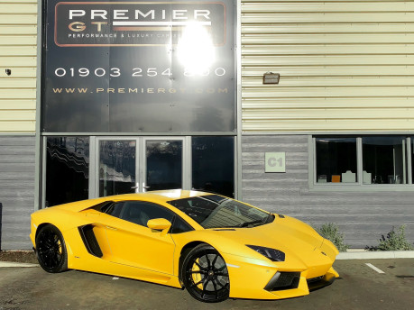 Lamborghini Aventador LP700-4 6.5 V12 COUPE, GREAT SPEC, £10K OPTIONAL PAINT, GLASS ENGINE COVER 58