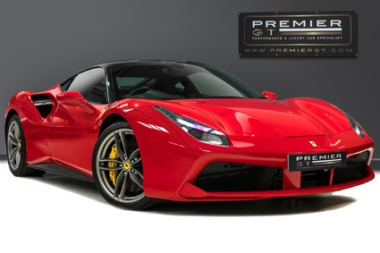 Ferrari 488 GTB 3.9 V8 F1 COUPE, FERRARI WARRANTY TO JUNE 2021, 7 YR SERVICE PACK.