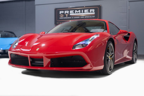 Ferrari 488 3.9 COUPE. NOW SOLD, SIMILAR REQUIRED. PLEASE CALL 01903 254800 3