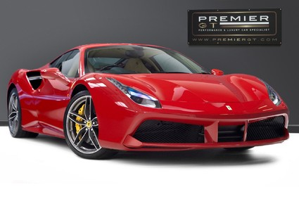 Ferrari 488 GTB 3.9 COUPE. FANTASTIC SPEC, FERRARI SERVICE PACK UNTIL 2023