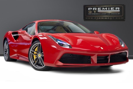Ferrari 488 3.9 COUPE. FANTASTIC SPEC, FERRARI SERVICE PACK UNTIL 2023 1