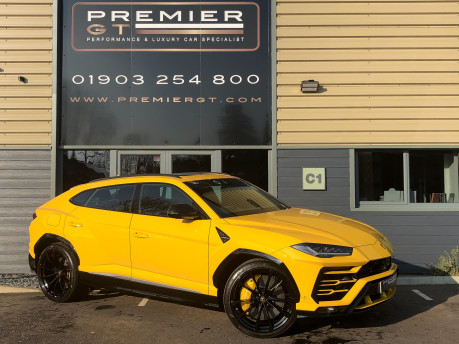 Lamborghini Urus 4.0 V8 TWIN-TURBO, HUGE SPEC. SORRY, NOW SOLD. SIMILAR VEHICLES REQUIRED.