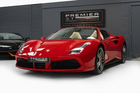 Ferrari 488 3.9 V8 TWIN-TURBO SPIDER. NOW SOLD. CALL US TODAY TO SELL YOUR FERRARI, 4