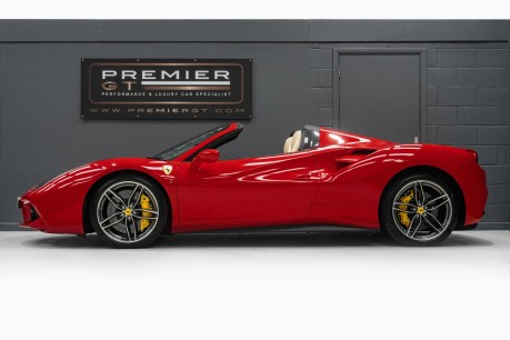 Ferrari 488 3.9 V8 TWIN-TURBO SPIDER. NOW SOLD. CALL US TODAY TO SELL YOUR FERRARI, 5