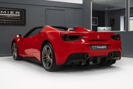 Ferrari 488 3.9 V8 TWIN-TURBO SPIDER, FERRARI WARRANTY TO APRIL 2022, SUSPENSION LIFTER 7