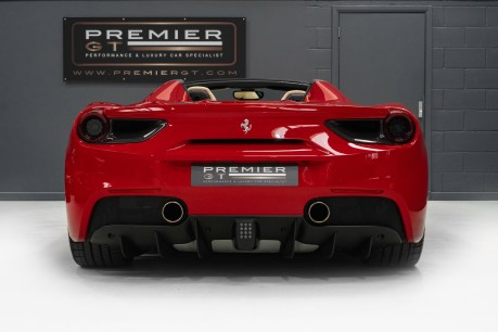 Ferrari 488 3.9 V8 TWIN-TURBO SPIDER, FERRARI WARRANTY TO APRIL 2022, SUSPENSION LIFTER 8