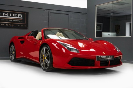 Ferrari 488 3.9 V8 TWIN-TURBO SPIDER. NOW SOLD. CALL US TODAY TO SELL YOUR FERRARI, 10
