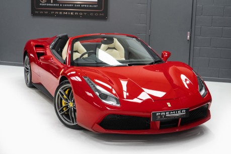 Ferrari 488 3.9 V8 TWIN-TURBO SPIDER. NOW SOLD. CALL US TODAY TO SELL YOUR FERRARI, 37