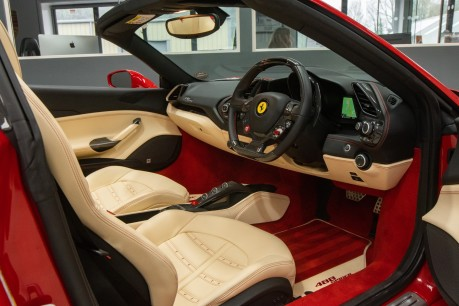 Ferrari 488 3.9 V8 TWIN-TURBO SPIDER, FERRARI WARRANTY TO APRIL 2022, SUSPENSION LIFTER 37