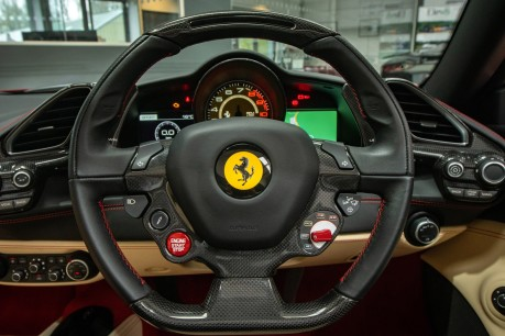 Ferrari 488 3.9 V8 TWIN-TURBO SPIDER, FERRARI WARRANTY TO APRIL 2022, SUSPENSION LIFTER 49