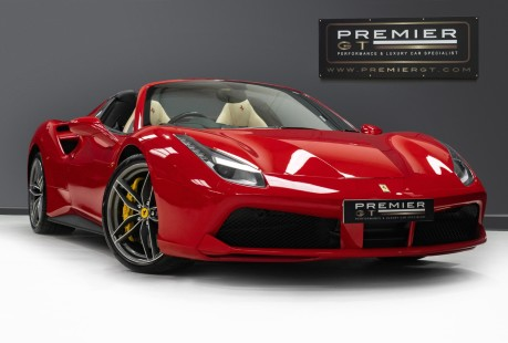 Ferrari 488 3.9 V8 TWIN-TURBO SPIDER. NOW SOLD. CALL US TODAY TO SELL YOUR FERRARI, 2