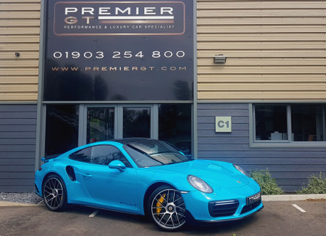 Porsche 911 3.8 TURBO S PDK COUPE, £13,700 OF OPTIONS, PORSCHE WARRANTY TO 28/03/2021
