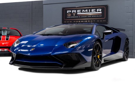 Lamborghini Aventador SV LP750-4 6.5 V12 COUPE, ONE OWNER FROM NEW, PART OF A PRIVATE COLLECTION 3