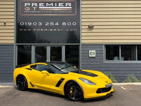Chevrolet Corvette C7 Z06 6.2 V8 SUPERCHARGED COUPE, Z07 PERFORMANCE PACKAGE, ONE OWNER
