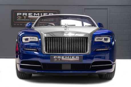 Rolls-Royce Dawn 6.6 V12 CONVERTIBLE, ROLLS ROYCE SERVICE PACK AND WARRANTY 2
