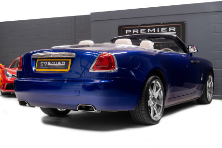 Rolls-Royce Dawn 6.6 V12 CONVERTIBLE, ROLLS ROYCE SERVICE PACK AND WARRANTY 6