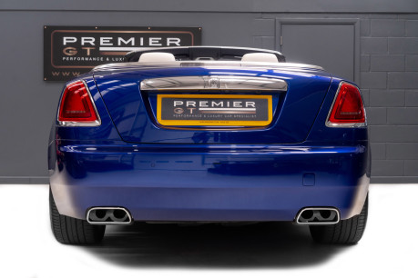 Rolls-Royce Dawn 6.6 V12 CONVERTIBLE, ROLLS ROYCE SERVICE PACK AND WARRANTY 7