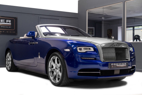 Rolls-Royce Dawn 6.6 V12 CONVERTIBLE, ROLLS ROYCE SERVICE PACK AND WARRANTY 9