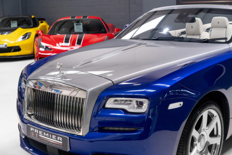 Rolls-Royce Dawn 6.6 V12 CONVERTIBLE, ROLLS ROYCE SERVICE PACK AND WARRANTY 16