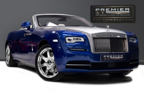 Rolls-Royce Dawn 6.6 V12 CONVERTIBLE, ROLLS ROYCE SERVICE PACK AND WARRANTY 1