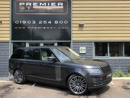 Land Rover Range Rover LWB 5.0 V8 SUPERCHARGED AUTOBIOGRAPHY, REAR ENTERTAINMENT, EXECUTIVE SEATS