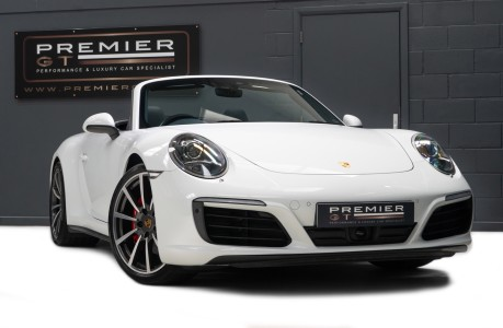 Porsche 911 991 CARRERA 4S 3.0 PDK CABRIOLET. NOW SOLD. CALL US TO SELL YOUR PORSCHE. 1