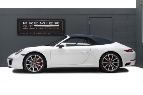 Porsche 911 991 CARRERA 4S 3.0 PDK CABRIOLET. NOW SOLD. CALL US TO SELL YOUR PORSCHE. 5