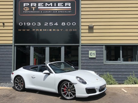 Porsche 911 991 CARRERA 4S 3.0 PDK CABRIOLET. NOW SOLD. CALL US TO SELL YOUR PORSCHE. 68