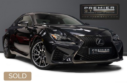 Lexus RC F PLUS 5.0 V8 LSS. SORRY, NOW SOLD. CALL US TODAY TO SELL YOUR LEXUS.