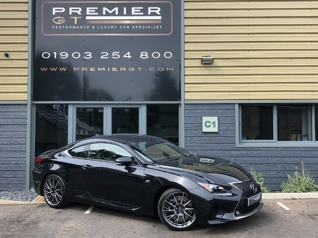 Lexus RC F PLUS 5.0 V8 LSS, ONE OWNER FROM NEW, LEXUS WARRANTY UNTIL SEPTEMBER 2021